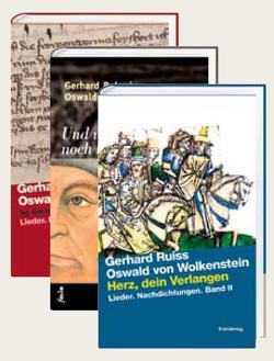 Lieder. Nachdichtungen von Ruiss,  Gerhard, von Wolkenstein,  Oswald