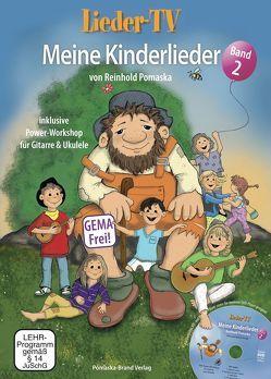 Lieder-TV: Meine Kinderlieder – Band 2 (mit DVD) von Krause,  Martina, Pomaska,  Reinhold