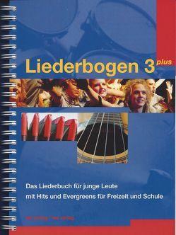 Liederbogen 3 plus (Wiro-Bindung) von Bühlmann,  Benno, Hodel,  Stephan