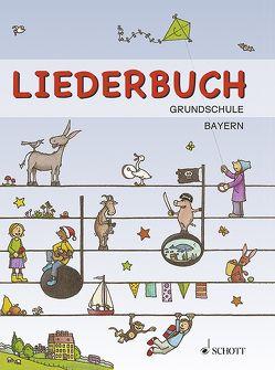 Liederbuch Grundschule (Bayern) von Bernhard,  Martin, Schnelle,  Frigga
