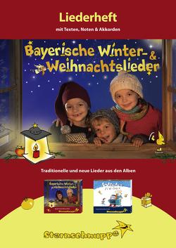 Liederheft Bayerische Winter- und Weihnachtslieder von Meier,  Werner, Sarholz,  Margit
