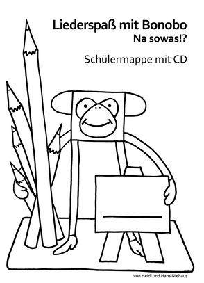 Liederspaß mit Bonobo von Niehaus,  Hans, Niehaus,  Heidi