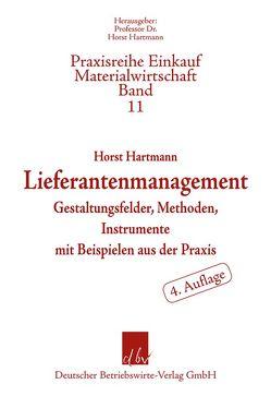 Lieferantenmanagement von Horst,  Hartmann