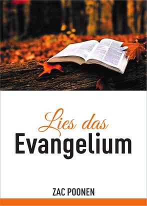 Lies das Evangelium von Poonen,  Zac