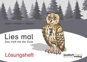 Lies mal 7 – Das Heft mit der Eule von Wachendorf,  Anja, Wachendorf,  Peter