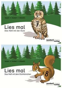 Lies mal – Hefte 7 und 8 (Paket) von Wachendorf,  Anja, Wachendorf,  Peter