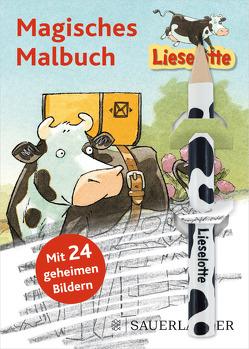 Lieselotte Magisches Malbuch Mit Bleistift von Steffensmeier,  Alexander