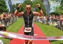 Lifestyle Würzburg Triathlon (Wandkalender 2018 DIN A2 quer) von Will,  Hans