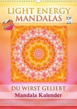 Light Energy Mandalas – Kalender – Vol. 1 (Wandkalender 2021 DIN A3 hoch) von Shayana Hoffmann,  Gaby