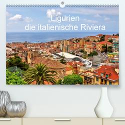 Ligurien – die italienische Riviera (Premium, hochwertiger DIN A2 Wandkalender 2021, Kunstdruck in Hochglanz) von Kruse,  Joana
