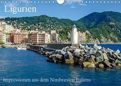 Ligurien – Impressionen aus dem Nordwesten Italiens (Wandkalender 2019 DIN A4 quer) von Brehm (www.frankolor.de),  Frank
