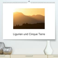 Ligurien und Cinque Terre (Premium, hochwertiger DIN A2 Wandkalender 2021, Kunstdruck in Hochglanz) von Heinemann,  Holger