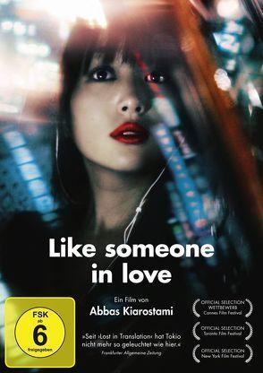 Like someone in love von Kiarostami,  Abbas