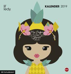 lil' ledy Broschur – Kalender 2019 von Heye