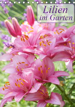 Lilien im Garten (Tischkalender 2019 DIN A5 hoch) von Kruse,  Gisela