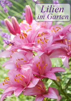 Lilien im Garten (Wandkalender 2019 DIN A2 hoch) von Kruse,  Gisela