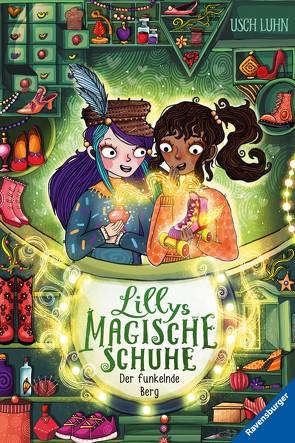 Lillys magische Schuhe, Band 5: Der funkelnde Berg von Luhn,  Usch, Räth,  Alica