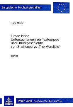 Limae labor von Meyer,  Horst