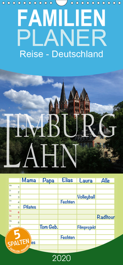 LIMBURG a.d. LAHN – Familienplaner hoch (Wandkalender 2020 , 21 cm x 45 cm, hoch) von P.Bundrück