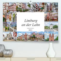 Limburg an der Lahn Impressionen (Premium, hochwertiger DIN A2 Wandkalender 2021, Kunstdruck in Hochglanz) von Meutzner,  Dirk