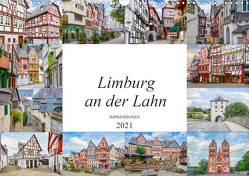 Limburg an der Lahn Impressionen (Wandkalender 2021 DIN A3 quer) von Meutzner,  Dirk