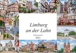 Limburg an der Lahn Impressionen (Wandkalender 2021 DIN A4 quer) von Meutzner,  Dirk