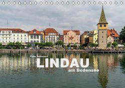 Lindau am Bodensee (Tischkalender 2019 DIN A5 quer) von Schickert,  Peter