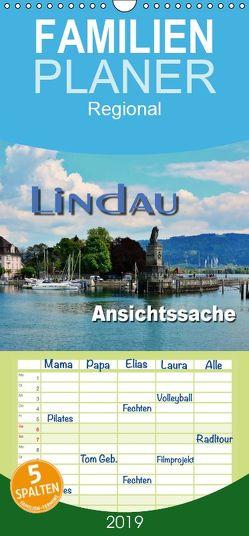 Lindau – Ansichtssache – Familienplaner hoch (Wandkalender 2019 , 21 cm x 45 cm, hoch) von Bartruff,  Thomas