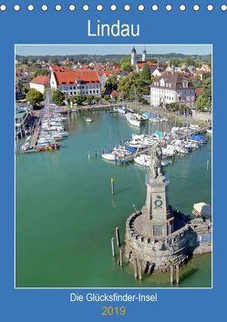 Lindau. Die Glücksfinder-Insel (Tischkalender 2019 DIN A5 hoch) von Marten,  Martina