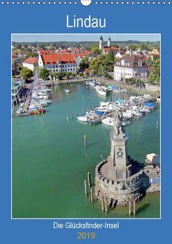 Lindau. Die Glücksfinder-Insel (Wandkalender 2019 DIN A3 hoch) von Marten,  Martina