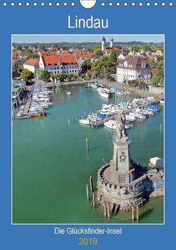 Lindau. Die Glücksfinder-Insel (Wandkalender 2019 DIN A4 hoch) von Marten,  Martina