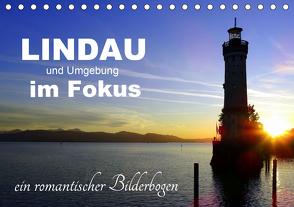 Lindau und Umgebung im Fokus (Tischkalender 2020 DIN A5 quer) von Huschka u.a.,  Klaus-Peter