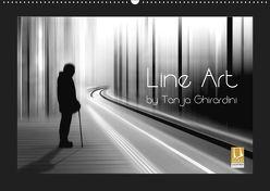 Line Art – by Tanja Ghirardini (Wandkalender 2019 DIN A2 quer) von Ghirardini,  Tanja