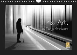 Line Art – by Tanja Ghirardini (Wandkalender 2019 DIN A4 quer) von Ghirardini,  Tanja