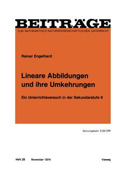 Lineare Abbildungen und ihre Umkehrungen von Engelhard,  Rainer