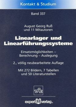 Linearlager und Linearführungssysteme von Ruß,  August G.