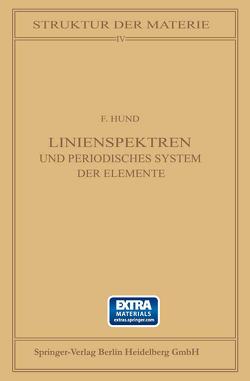 Linienspektren von Hund,  F.