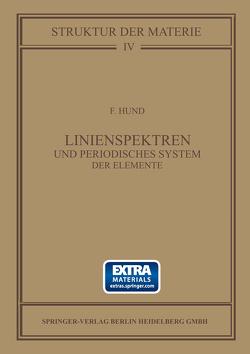 Linienspektren und Periodisches System der Elemente von Hund,  Friedrich