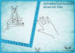 """Linkshänder Schreibunterlage """"Hasenkind"""" von Steinkopf,  Frank"""