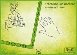 """Linkshänder Schreibunterlage """"Hasenpapa"""" von Steinkopf,  Frank"""