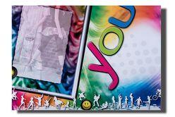 """Linkshänder Schreibunterlage """"Rainbow"""" von Steinkopf,  Frank"""