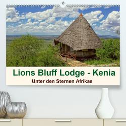 Lions Bluff Lodge – Kenia. Unter den Sternen Afrikas (Premium, hochwertiger DIN A2 Wandkalender 2021, Kunstdruck in Hochglanz) von Michel / CH,  Susan