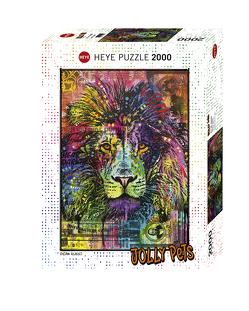 Lion's Heart Puzzle von Russo,  Dean