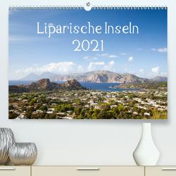 Liparische Inseln (Premium, hochwertiger DIN A2 Wandkalender 2021, Kunstdruck in Hochglanz) von Gann,  Markus