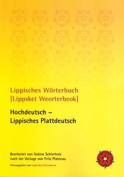 Lippisches Wörterbuch [Lippsket Weorterbeok] von Schierholz,  Sabine, Zahn,  Werner