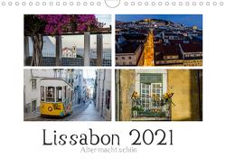 Lissabon – Alter macht schön (Wandkalender 2021 DIN A4 quer) von Herm,  Olaf