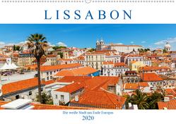 Lissabon – Die weiße Stadt am Ende Europas (Wandkalender 2020 DIN A2 quer) von Müller,  Christian