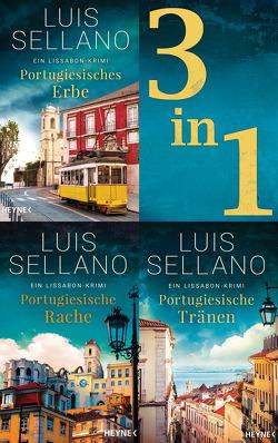 Lissabon-Krimis 1-3: Portugiesisches Erbe / Portugiesische Rache / Portugiesische Tränen (3in1-Bundle) von Sellano,  Luis