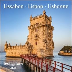 Lissabon Lisboa 2020 – Broschürenkalender – Wandkalender – mit herausnehmbarem Poster – Format 30 x 30 cm von DUMONT Kalenderverlag