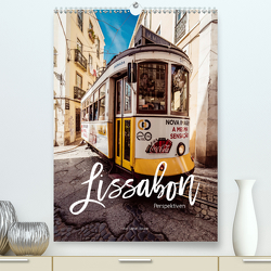 Lissabon Perspektiven (Premium, hochwertiger DIN A2 Wandkalender 2020, Kunstdruck in Hochglanz) von Becker,  Stefan